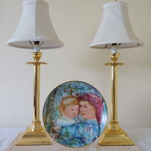 Other - Edna Hibel Mother's Day Plate 1991